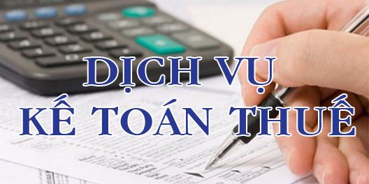 dịch vụ kế toán thuế trọn gói năm tài chính