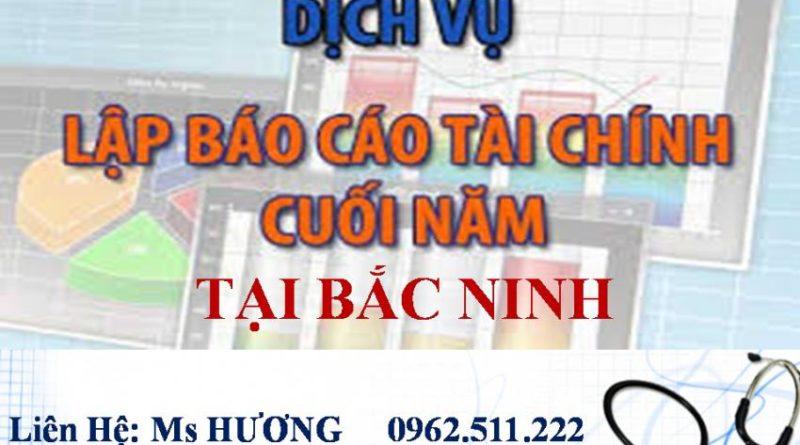 Dịch vụ dọn dẹp sổ sách ở Bắc Ninh