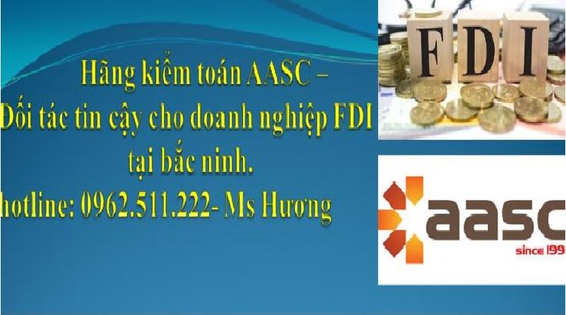 Dịch vụ kiểm toán báo cáo tài chính tại bắc ninh -AASC