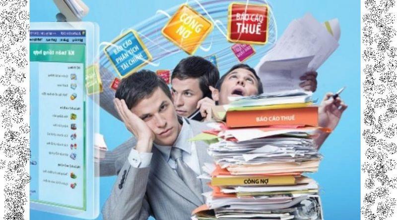 Dịch vụ dọn dẹp sổ sách, làm báo cáo tài chính cuối năm