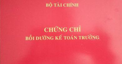 Đào tạo kế toán trưởng doanh nghiệp tại Hải Dương