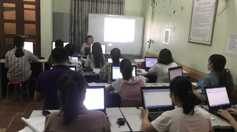 Khóa học tin học văn phòng cho dân kế toán
