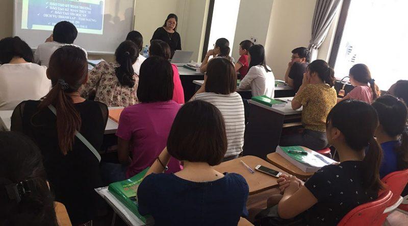 Khóa học kế toán trưởng tại Bắc Ninh