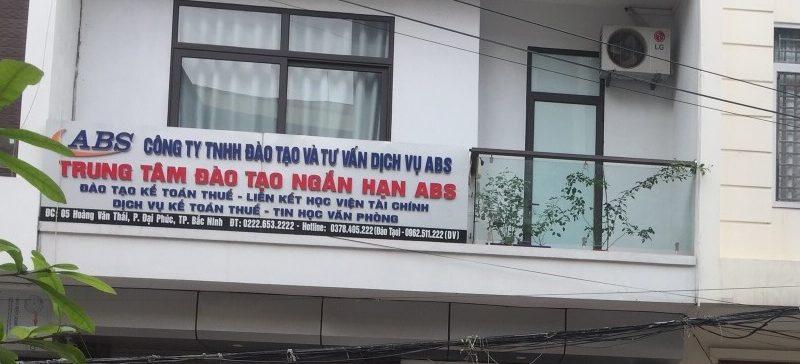 Dịch vụ kế toán trọn gói tại Hạp lĩnh Bắc Ninh