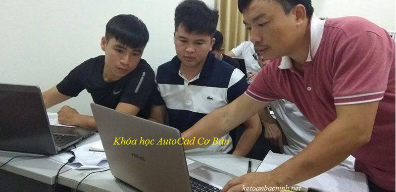 Khóa học AutoCad cơ bản vfa khóa học tin học văn phòng tại Bắc Ninh
