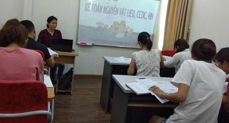 khóa học kế toán tổng hợp