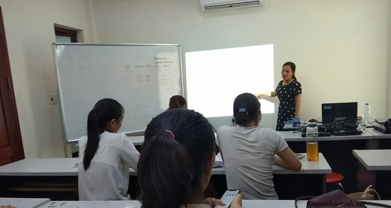 khóa học kế toán tổng hợp thực tế
